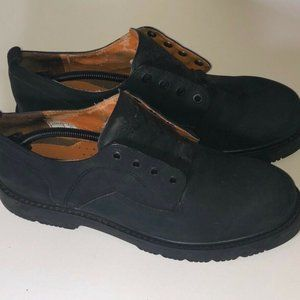Timberland Mens Oxford Shoes Beaters Black